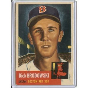 1953 Topps Dick Brodowski Single