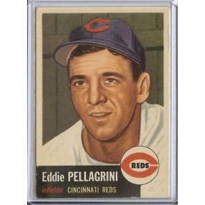 1953 Topps Eddie Pellagrini Single