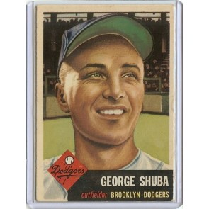 1953 Topps George Shuba Single