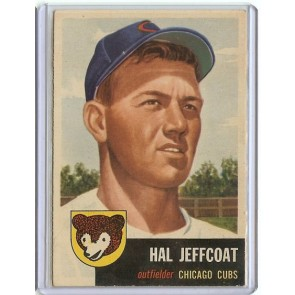 1953 Topps Hal Jeffcoat Single