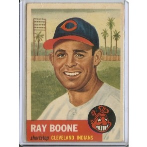 1953 Topps Ray Boone Single