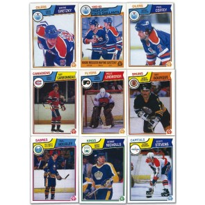 1983-84 O-Pee-Chee Set NM-MT Condition
