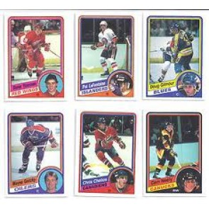 1984-85 O-Pee-Chee Set NM-MT Condition