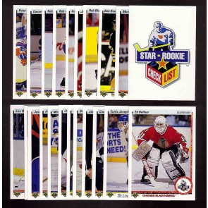 1990-91 Upper Deck Lo Number Set