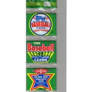 1990 Topps Rak-Pak Baseball Factory Sealed