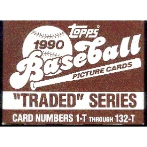 1990 Topps Traded & Rookies Baseball Factory Set