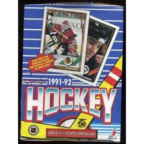 1991-92 OPC O-Pee-Chee Hockey Box
