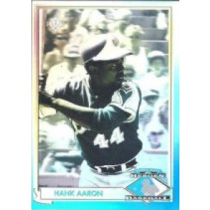 1991 Upper Deck Hank Aaron Heroes of Baseball Hologram