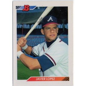 1992 Bowman Javier Lopez Single
