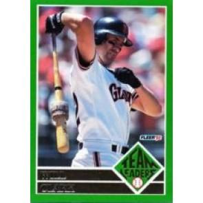 1992 Fleer Will Clark Team Leaders SP
