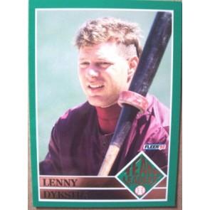 1992 Fleer Lenny Dykstra Team Leaders SP