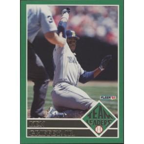 1992 Fleer Ken Griffey Jr. Team Leaders SP