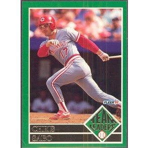 1992 Fleer Chris Sabo Team Leaders SP