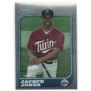 1997 Bowman Chrome Jacque Jones Rookie