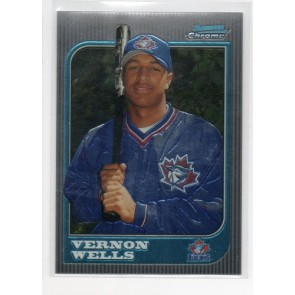 1997 Bowman Chrome Vernon Wells Rookie