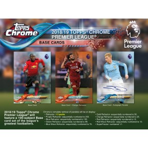 2018 Topps Chrome Premier League Soccer