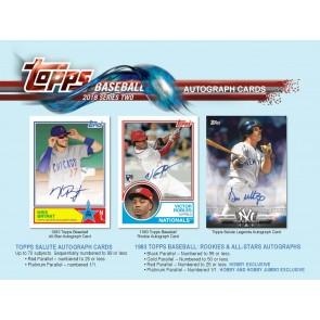 2018 Topps Series 2 Baseball Jumbo HTA Box