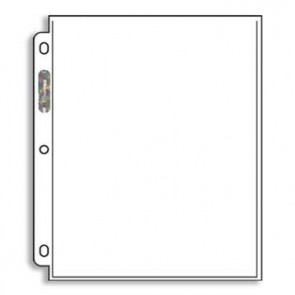 """Ultra Pro Pages 1 Pocket - 8.5"""" x 11 100 Pack"""