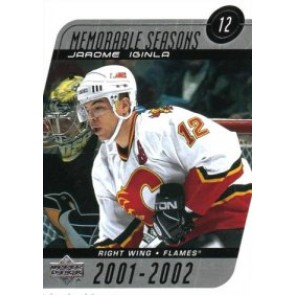 2002-03 Upper Deck Jarome Iginla Memorable Seasons