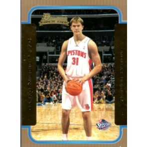 2003-04 Bowman Darko Milicic Rookie Gold