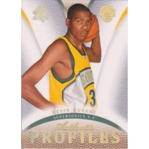 2007-08 Upper Deck SP Authentic Kevin Durant Authentic Profiles