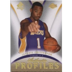 2007-08 Upper Deck SP Authentic Javaris Crittenton Authentic Profiles