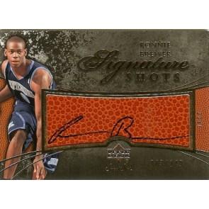 2007-08 Upper Deck Sweet Shot Ronnie Brewer Signature Shots Autograph 003/149