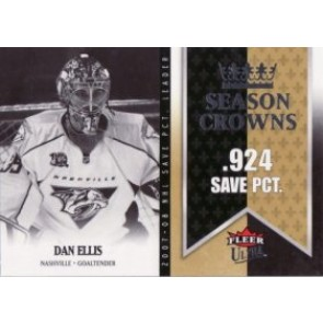 2008-09 Fleer Ultra Dan Ellis Season Crowns
