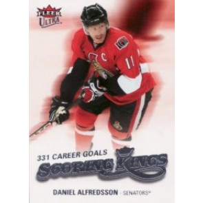 2008-09 Fleer Ultra Daniel Alfredsson Scoring Kings