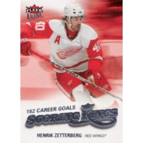 2008-09 Fleer Ultra Henrik Zetterberg Scoring Kings
