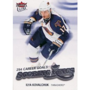 2008-09 Fleer Ultra Ilya Kovalchuk Scoring Kings
