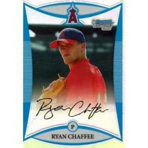2008 Bowman Chrome Draft Picks Ryan Chaffee Refractor