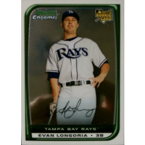 2008 Bowman Chrome Evan Longoria Rookie