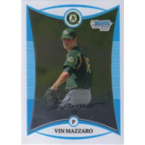 2008 Bowman Chrome Prospects Vin Mazzaro Base Single