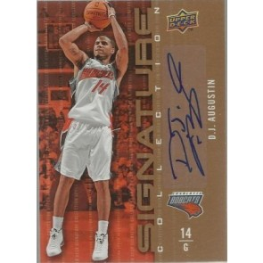2009-10 Upper Deck D.J. Augustin Signature Collection
