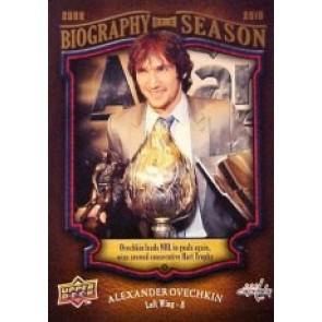 2009-10 Upper Deck Alexander Ovechkin Biography of a Season