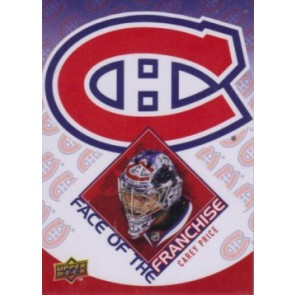 2009-10 Upper Deck Carey Price Face of the Franchise