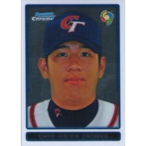 2009 Bowman Chrome Chih-Hsien Chiang WBC Prospects