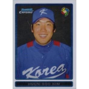 2009 Bowman Chrome Hyun-Soo Kim WBC Prospects
