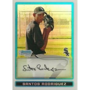2009 Bowman Chrome Prospects Santos Rodriguez Refractor /500