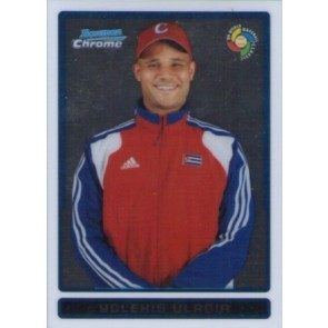 2009 Bowman Chrome Yolexis Ulacia WBC Prospects