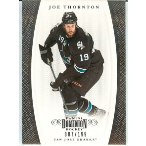 2011-12 Panini Dominion Joe Thornton Base Single 087/199