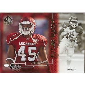 2011 SP Authentic D.J. Williams Future Watch