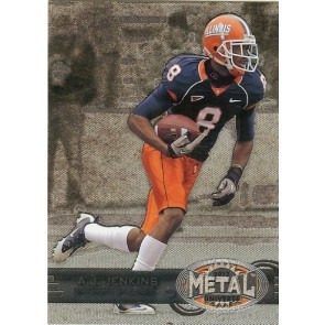 2012 Fleer Retro A.J. Jenkins Metal Universe Base Single