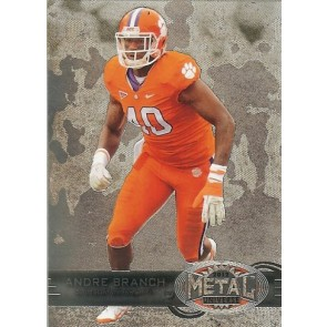 2012 Fleer Retro Andre Branch Metal Universe Base Single
