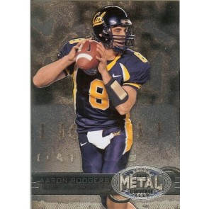 2012 Fleer Retro Aaron Rodgers Metal Universe Base Single
