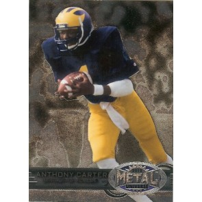 2012 Fleer Retro Anthony Carter Metal Universe Base Single