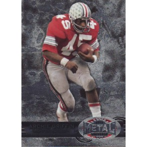 2012 Fleer Retro Archie Griffin Metal Universe Base Single