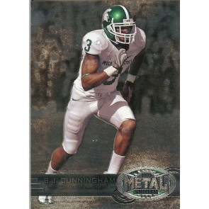 2012 Fleer Retro B.J. Cunningham Metal Universe Base Single
