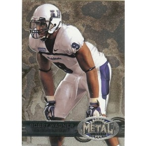 2012 Fleer Retro Bobby Wagner Metal Universe Base Single